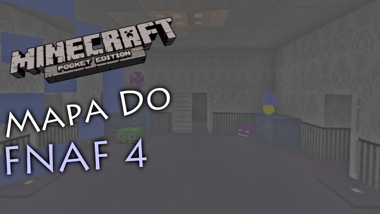 fnaf minecraft map download pe