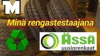 Ässä Uusiorengas - Renkaiden kierrätystä - Rengastestaaja