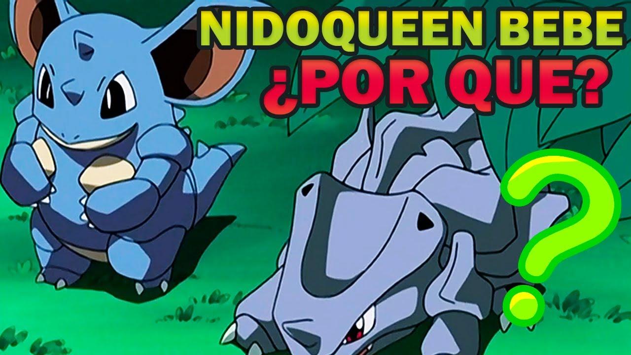 ¿Por qué existen los Nidoqueen Bebes en el Mundo Pokemon? | Rexas responde