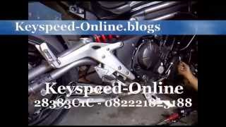 Knalpot Kawasaki Ninja Er6 IXIL Silencer By Key Speed