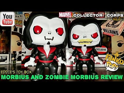 Zombie Morbius >> Marvel Collector Corps Villains Box Morbius And Zombie Morbius Funko Pop Review