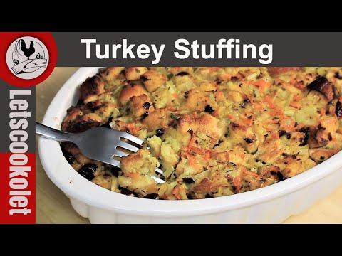 Classic Turkey Stuffing Recipe\ Turkey Dressing