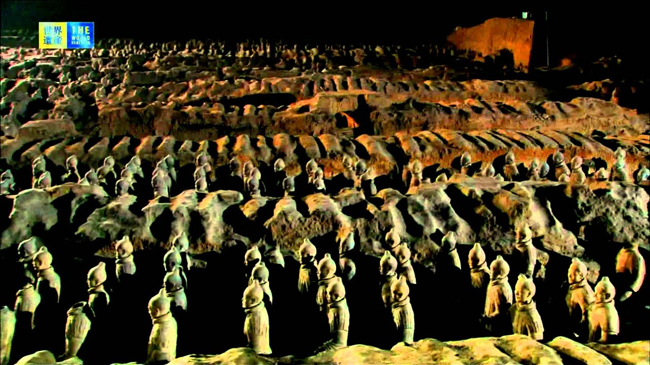 Mausoleum of the First Qin Emperor (UNESCO/TBS) - YouTube