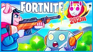 PRO Says I'm *CHEATING* bc of THESE SNIPES in Fortnite: Battle Royale! (Fortnite Funny Moments)