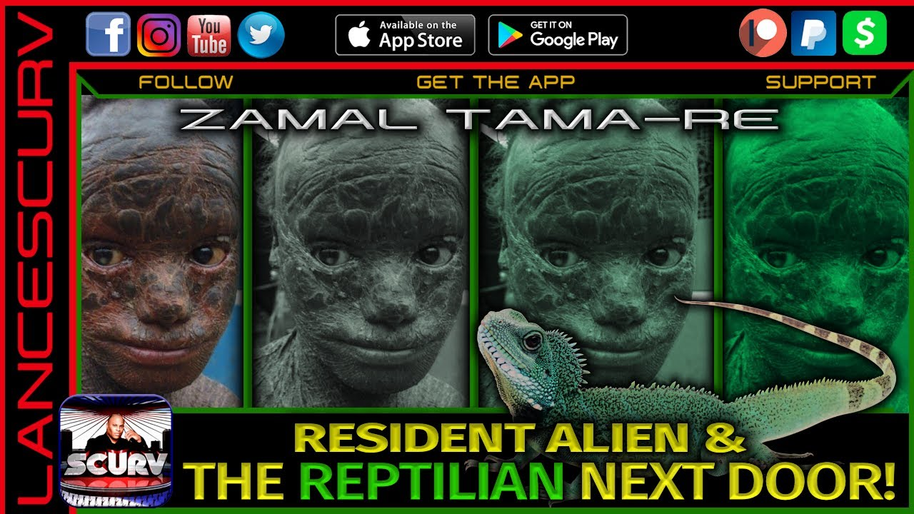 RESIDENT ALIEN & THE REPTILIAN NEXT DOOR! (PART 2) - ZAMAL TAMA-RE