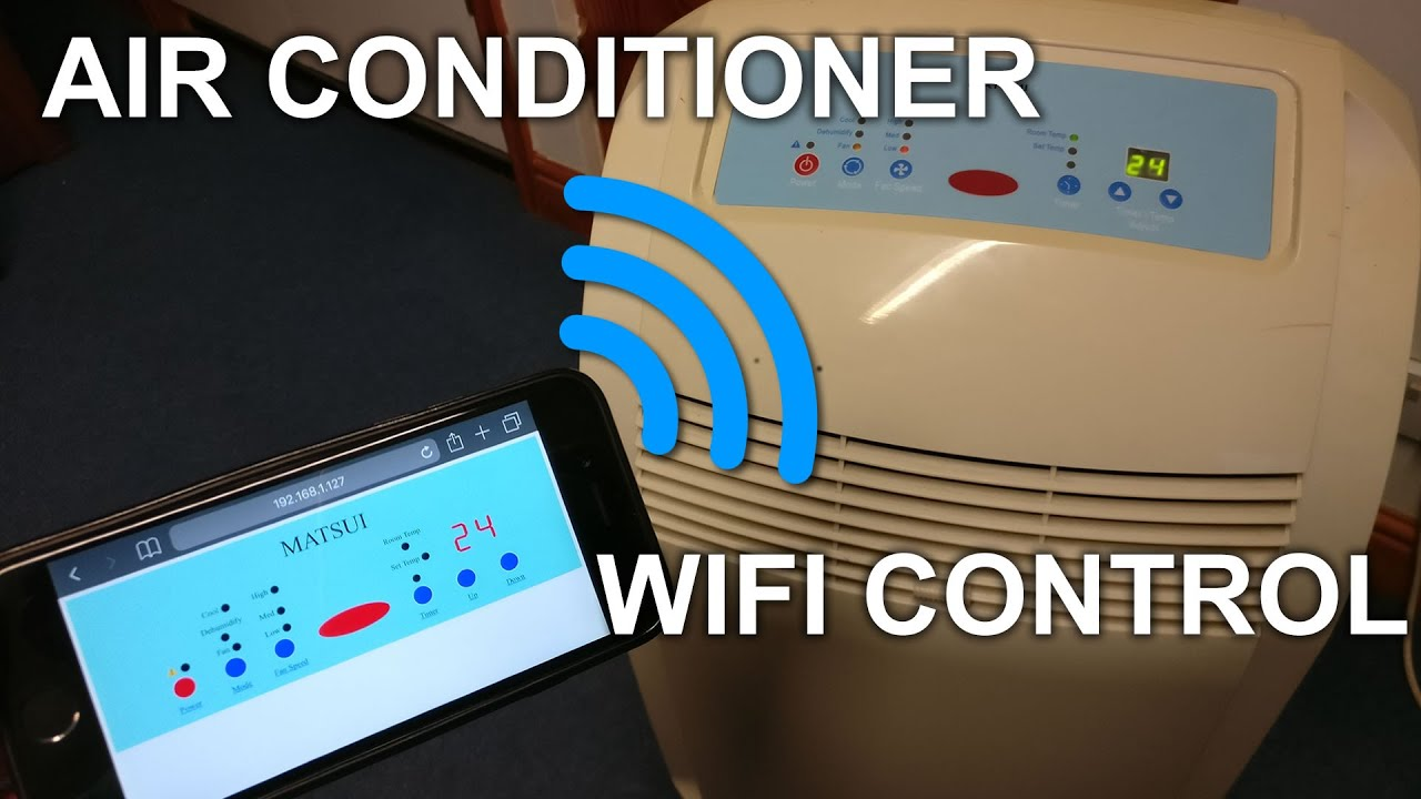 Matsui Air Conditioner WiFi Control Upgrade
