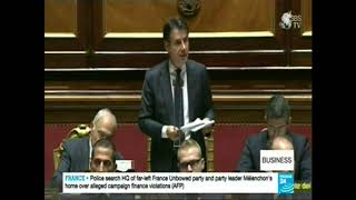 News Business on Italy's budget proposal to include a Universal Income