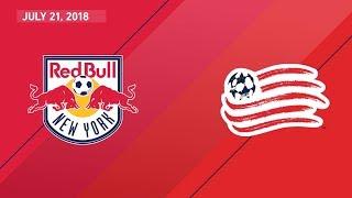 HIGHLIGHTS: New York Red Bulls vs. New England Revolution   July 21, 2018