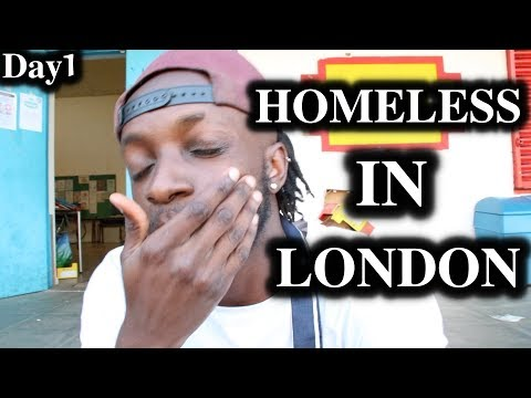 London Hacks - Homeless In London   Day1