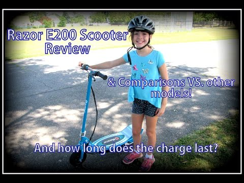 Razor E200 Electric Scooter Review (The Ride, Features, Comparisons, Length Of Charge)