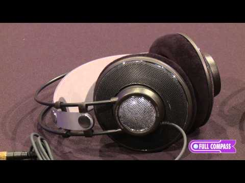 AKG K612 Pro and K712 Pro Open Over-Ear Reference Studio Headphone Overview | Full Compass