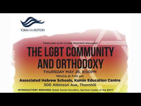 The LGBT Community and Orthodoxy, Panel Discussion