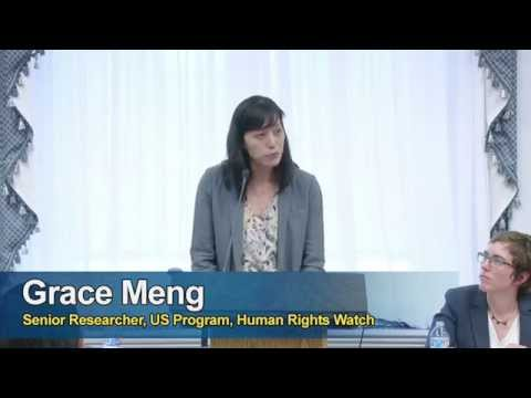 From Geneva to Washington D.C. Securing Human Rights for Immigrant Women and Families. PT 1.