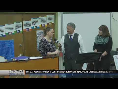 Whitehall Middle School awarded One Class At A Time check