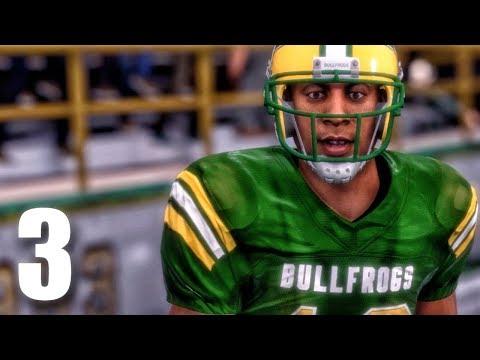 HIGH SCHOOL FOOTBALL HERO! Madden 18 Longshot Gameplay Walkthrough Ep. 3