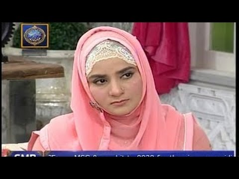 URDU HAMD(  Ya Allah Ya Rahman)HOORIA FAHIM AT QTV.BY Visaal