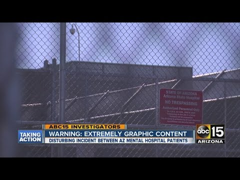 Dangerous sexual activity at Arizona mental hospital