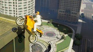 Amazing Bike Stunt Race (GTA 5 Funny Moments)