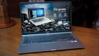 LG GRAM 2018: 1kg, Core i7 e 20 HORAS DE BATERIA?! (HANDS ON)