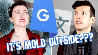 "Google Translate Sings: ""Baby It's Cold Outside"""