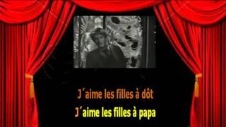 Karaoké Jacques Dutronc  - J