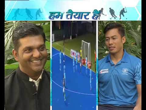 Indian team's vice-captain Chinglensana Singh in Hum Taiyar Hai| DD Sports