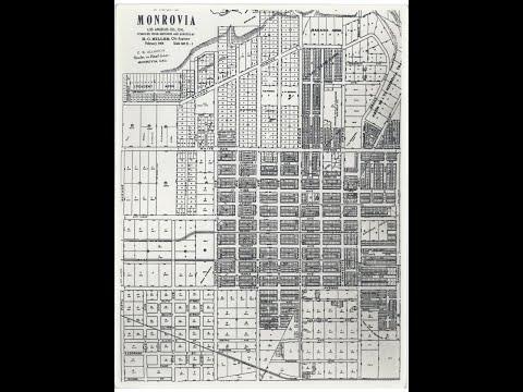Street Names - Monrovia, California
