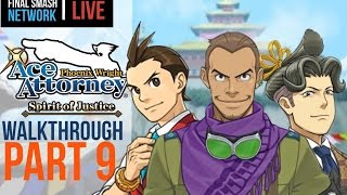 Phoenix Wright: Ace Attorney - Spirit of Justice | Walkthrough Part 9 | Case 5 | Ending?