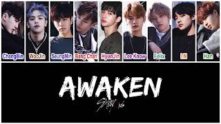 [3.02 MB] Stray Kids (스트레이 키즈) - Awaken [HAN|ROM|ENG Color Coded Lyrics]