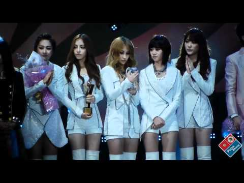 [FanCam]101023 KARA - Mr.+ Ending Asia Song Festival by PizzaBbang