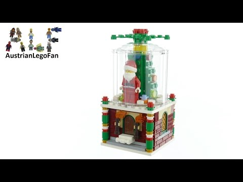 Lego 40223 Snowglobe Limited Edition - Lego Speed Build Review