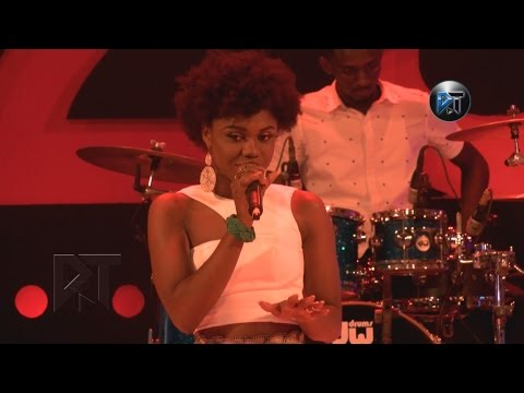 Becca performs  African Woman at Akosua Agyapong at 25 concert