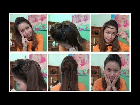 Hairstyles - 4 Kiểu Tóc Kết Hợp Mái Phồng Đơn Giản Mà Đẹp