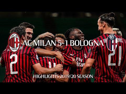 Highlights | AC Milan 5-1 Bologna | Matchday 34 Serie A TIM 2019/20