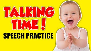 Speech Videos for Toddlers and Babies - Early Intervention Activities and Baby Milestones Video