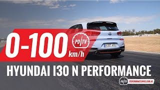 2018 Hyundai i30 N 0 100km h engine sound