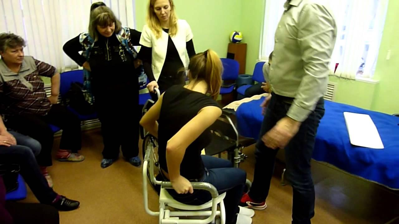 Кресло туалет для полных HMP 7012 - YouTube