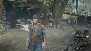 Трэш обзор игры Days Gone. PlayStation 4. Стрим. Онлайн. Прохождение. Юмор. Зомби. Хоррор. Шутер.