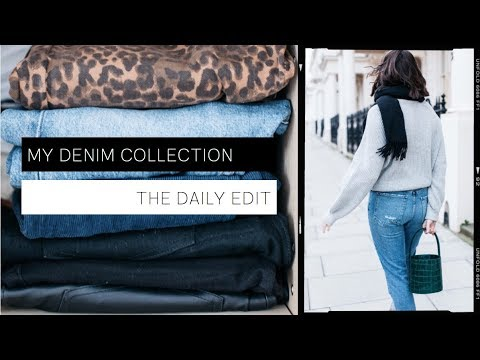 High-Street & High-End Denim Collection & Buying Tips | THE DAILY EDIT | The Anna Edit