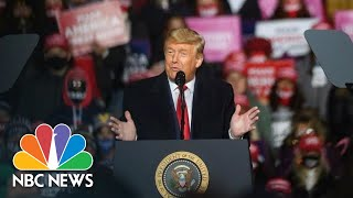 Trumps Holds Campaign Rally In North Carolina | NBC News