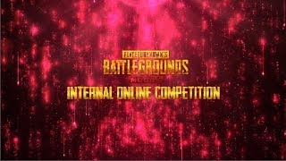 PUBG Mobile Internal Online competition