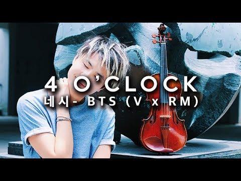BTS (V & Rap Mon) - 4 O'Clock VIOLIN COVER