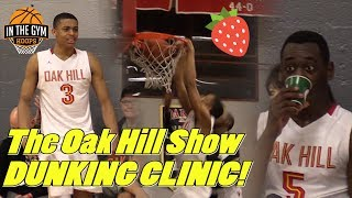 The Oak Hill Show Puts on a DUNKING CLINIC! EASY Blowout Win!
