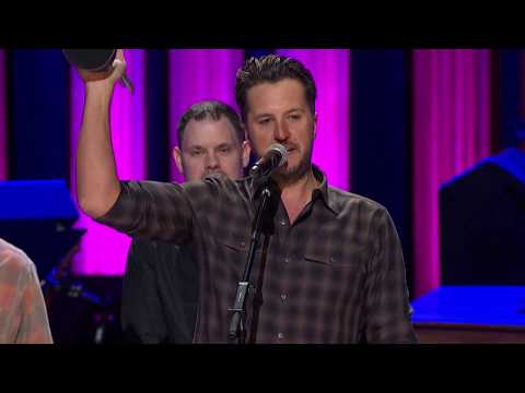 Bob Delmont - Luke Bryan receives Album of the Decade award at The Opry