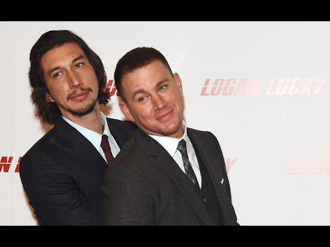 Logan Lucky UK Premiere Red Carpet - Channing Tatum, Adam Driver