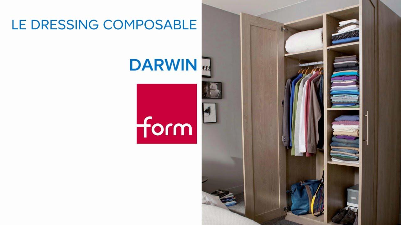 concept de dressing composable darwin form castorama