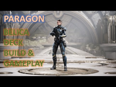 Paragon - Belica Deck Build & Gameplay