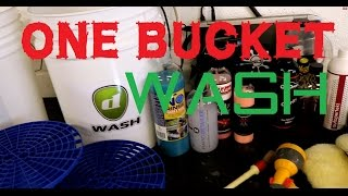 The Forensic Detailing One 1 Bucket wash method