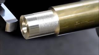 Ornamental Lathe Work --- A Brass Cannon Barrel