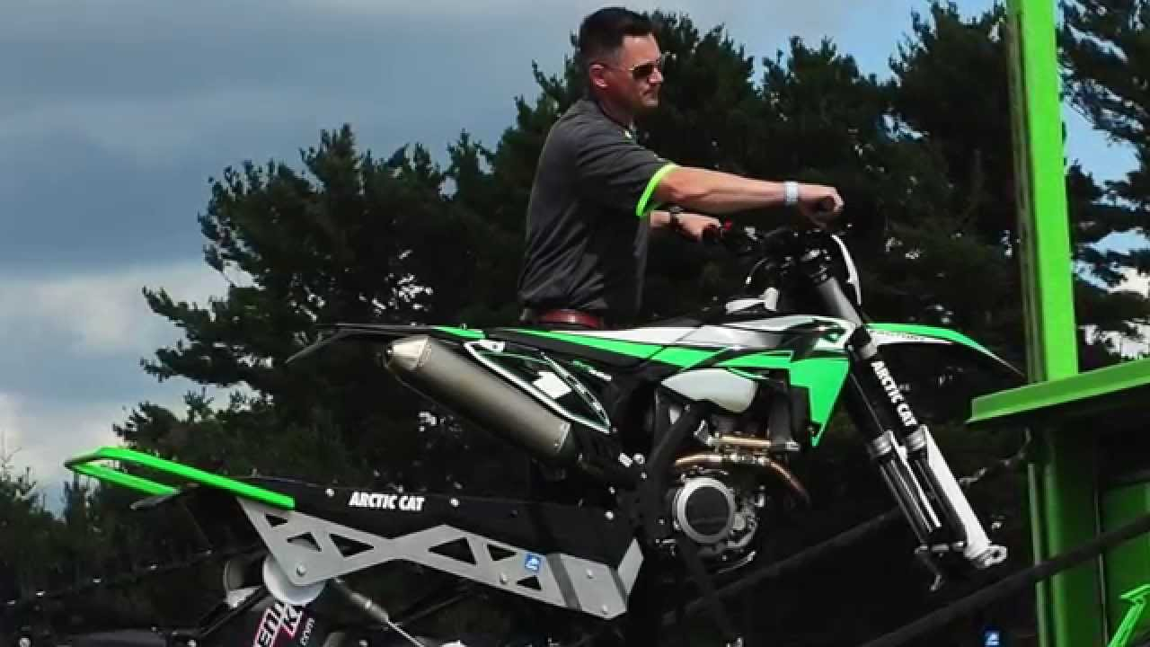 Sneak Peek  Arctic Cat Single-ski Svx 450 Snowmobile